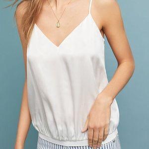 White Silk Camisole - Cami NYC Montaine Cami NWT
